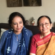 With Dr. Madhu Khanna