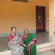 With Dr. Haripriya Rangarajan