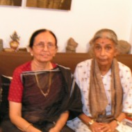 With Dr. Lotika Varadarajan