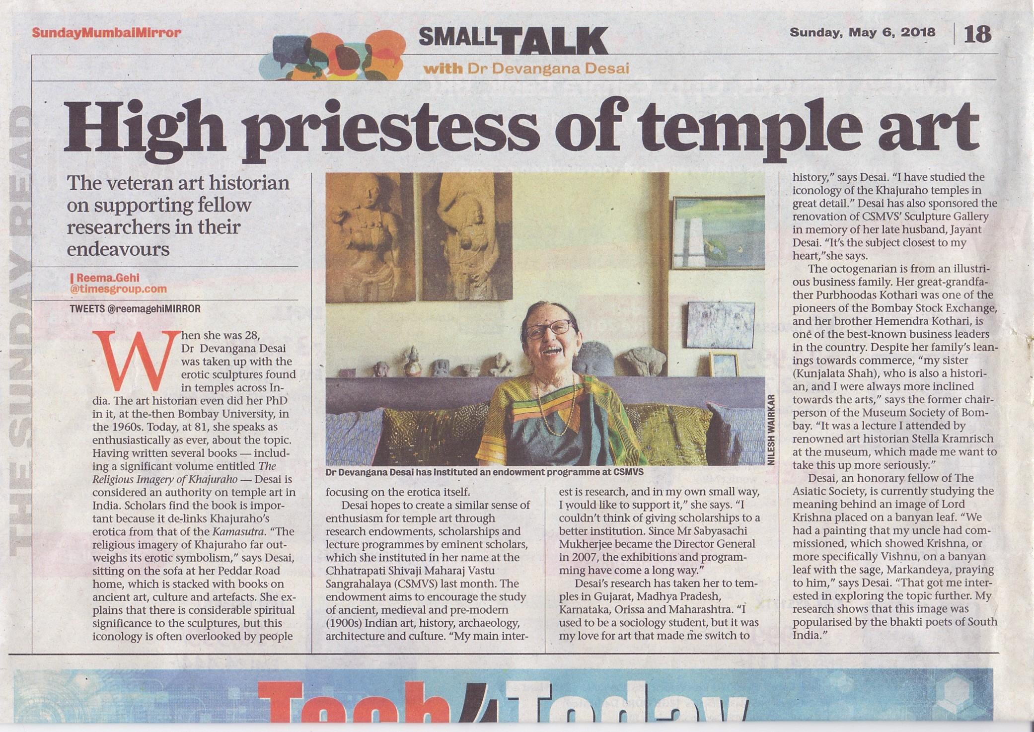 Mumbai Mirror May 6, 2018